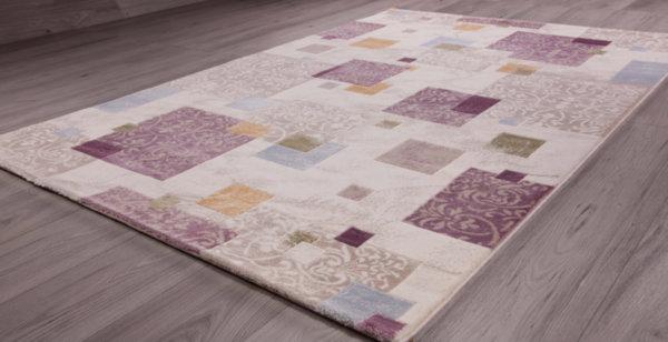 килим сафир 1606 беж/лила